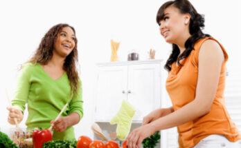 teens cooking, teens in the kitchen